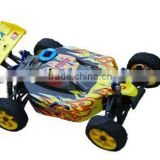 HSP 94081 1/8 Yellow 2.4Ghz Bazooka Nitro 4WD Off Road RC Buggy