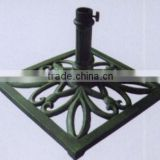 cast iron umbrella stand,umbrella base