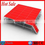 Hot sale Cheap CE ,SGS, TUV cetificited 1.22*1.22m or 1.22m*2.44m aluminum outdoor stage design
