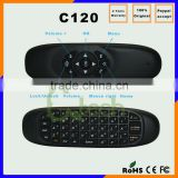 Original 2.4GHz G Mouse II/C120 Air Mouse T10 Rechargeable Wireless Air Fly Mouse Keyboard Combo C120 air Mouse Keyboard
