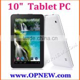 Wholesale 10 inch Octa core Allwinner A33 tablet pc 1280*800 Screen HD Camera Wifi Bluetooth Wifi 3G Wholesale tablet pc