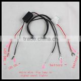 LED daytime running light relay harness DRL controller dimmer on/off Switch Parking Light Auto Car LED DRL Controller