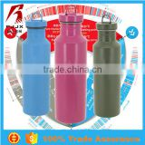 Titanium eco-friendly healthy stainless steel sports thermos water bottle