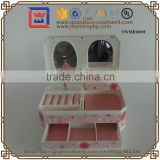 Luxury Plastic Jewelry Box From CN With Custom Logo Music Box Carousel