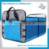 Highest Quality Polyester Material Trunk Organizer Type Premium Auto Trunk Cargo Organizer with Side Mesh Pocket                                                                         Quality Choice