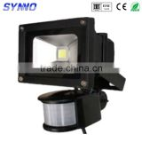 hot new products for Outdoor 10w COB LED water level sensor Flood Light Floodlight LED Outdoor spot LightLamp