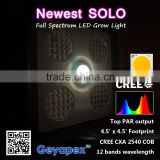Newest Full Spectrum COB Chip 200w LED Grow Lights for Hydroponics Vegetables and Flowering Plants