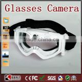Bicycle racing car mirror glasses Camera Goggles for outdoor sports Racing recording
