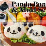 bento lunch box kitchen tools cooking kids gifts cute rice ball panda japanese onigiri at sushi molds nori puncher