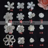 well polished painting plastic cream color flower leaf shape wedding pearl                                                                         Quality Choice