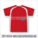 Custom dry fit Baseball jersey Shirts Cheap Team Baseball Uniforms Polyester Baseball Jersey wholesale