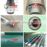 pipe base screen GX wire wrapped stainless steel digital water well screen filter