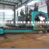 spiral steel pipe cutting and bending machine