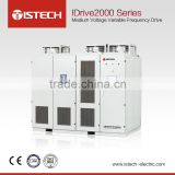 ISTECH IDrive2000 High quality Medium voltage frequency converter Powder exhaust fan 6.3KV 500KW