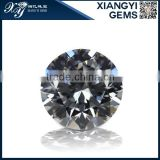 brilliant white loose star cut cubic zirconia for high quality jewelry