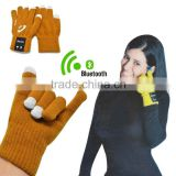 Christmas Gifts 2015 New Hot Selling Bluetooth Talking Glove with Microphone