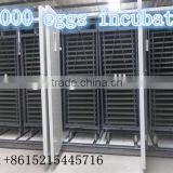 Agriculture equipments Fully automatic the egg incubator ZH-33792 30000 pcs chicken egg incubator with automatic egg turner