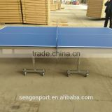 Wholesale cheap waterproof outdoor ping pong table /blue table tennis sport table