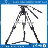 Professional video camera tripod secced Reach Plus 4 tripod with pan bar and ground spreader loading 32kg