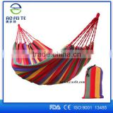 2016 Aofeite Portable Cotton Rope Canvas Outdoor Camping Hanging Military Hammock Swing