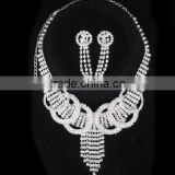 Free Shipping! cheap rhinestone bridal jewelry sets Ladies' Rhineston Diamond Silver Fashion Wedding Accessories CWFan4893
