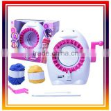 DWI dowellin 833 Do-It-Yourself Girls Knitting toys flower set knitting machine easy knit wool toy for kids