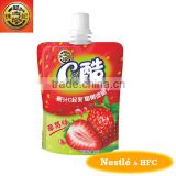 HFC 4706 fruit jelly drink/ jelly pudding with strawberry flavour