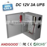 uninterruptible power supply,12v 3a ups, alarm monitoring systems