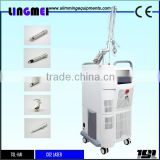 40w Lingmei Medical Scar Removal Skin Tightening Co2 Fractional Aesthetic Laser Equipment