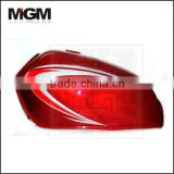 CG4-red 50000 liters fuel tank semi trailer/fuel tank for truck/fuel tank for mitsubishi