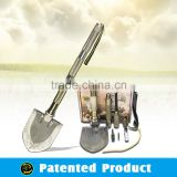 Garden Tool Set Outdoor Tools Shovel Multifunction Foldable Spade&Shovel model#DJSV-IS Flint Knife Slicer Chop
