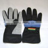 Drill cotton long garden gloves