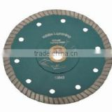Super thin turbo fine diamond cutting blade