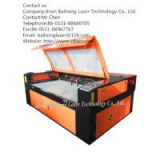 Sell DOUBLE-HEAD MUTUAL MOVABLE LASER CUTTING MACHINE FOR PLUSH TOY FABRICS  VD1810