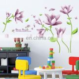 Elegant Bouquet Pattern DIY Removable PVC Decals 60cm*90cm Wall Stickers