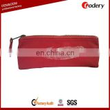 OEM military canvas zipper binder pencil bag