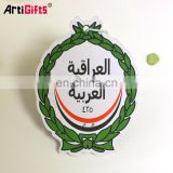 Cute design absorbent perfume leaf car air freshener paper