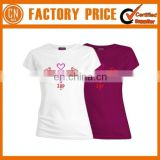 Hot Selling 100% Cotton T-shirt with Customized Printing