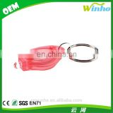 Winho cheap micro white led flashlight keychain keyring