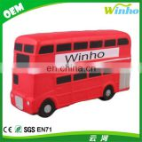 Winho Promotional Double Decker Bus Stress Toy