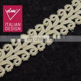 New style high quality 100% cotton eyelash lace trim for clothes