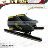 Professional full carbon long track ice speed skate,clap skate