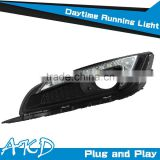 AKD Car Styling for Opel Insignia LED DRL New Insignia 2014 LED DRL LED Daytime Running Light Good Quality LED Fog lamp