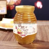 empty honey glass jar with lid , clear glass jar for honey wholesale                                                                         Quality Choice