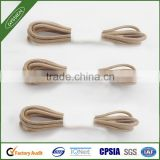 Polyester Round Wax rope custom shoe lace