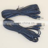 12v dc 5 meter length extension dc cable with 5.5x2.1 plug