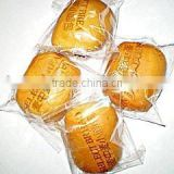 Clear/matt/tranparent color with customized printed CPP/OPP/PET heat seal packaging plastic bags for bread/cookies