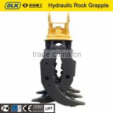 Stone Excavator Rotating Grapple / Hydraulic Grapples Construction Machinery Parts 24 - 30T