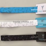 MDW86 New design wholesale factory price popular Polyester / Satin / Imitation Nylon RFID wristband for events