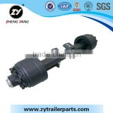 Zhengyang Trailer Parts German Outboard Drum Axle For Truck Trailer